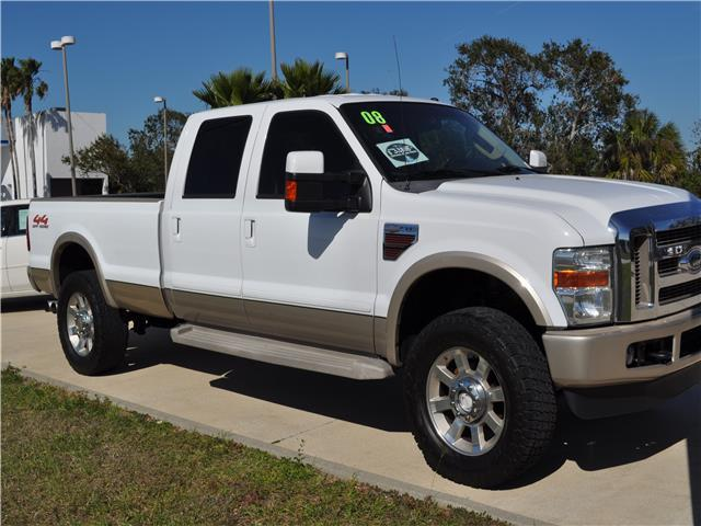 2008 Ford F-350 King Ranch Truck