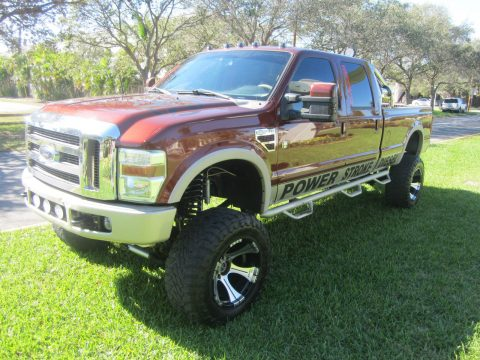 Lifted 2008 Ford F 350 King Ranch Crew Cab 6.4L for sale