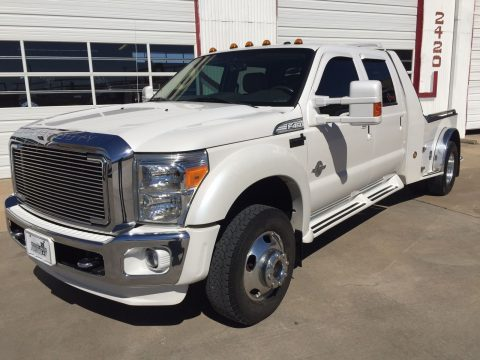 Monster 2014 Ford F-450 Lariat Crew Cab Hauler for sale