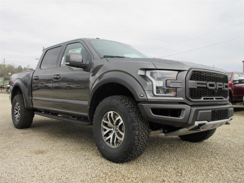 New and stock 2017 Ford F 150 Raptor Crew Cab