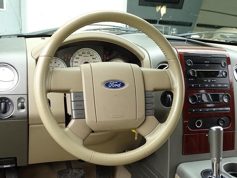Accident free 2007 Ford F 150 Lariat Crew Cab
