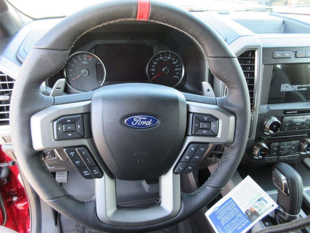 Almost no mileage 2017 Ford F 150 Raptor Crew Cab new