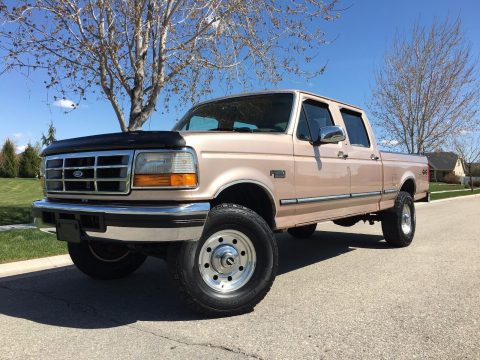 Fully loaded 1997 Ford F 250 Crew cab for sale