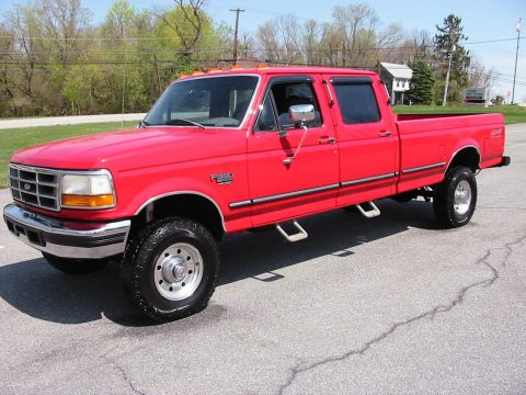 Pampered non smoker 1997 Ford F 350 XLT Crew Cab for sale