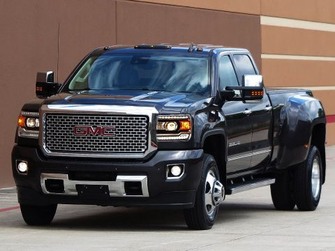 Equipped hauler 2015 GMC Sierra 3500 Denali Crew cab for sale