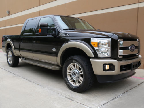 like new 2013 ford f 250 king ranch crew cab short bed for sale. Black Bedroom Furniture Sets. Home Design Ideas
