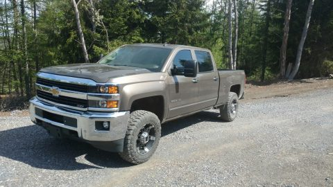 Low mileage 2015 Chevrolet Silverado 2500 LTZ crew cab for sale