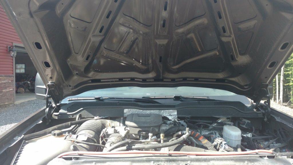 Low mileage 2015 Chevrolet Silverado 2500 LTZ crew cab