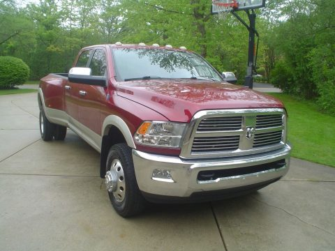 Non-smoker 2011 Ram 3500 Laramie crew cab for sale