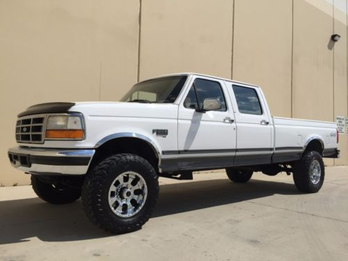 strong powerstroke diesel 1997 ford f 350 xlt crew cab for sale. Black Bedroom Furniture Sets. Home Design Ideas