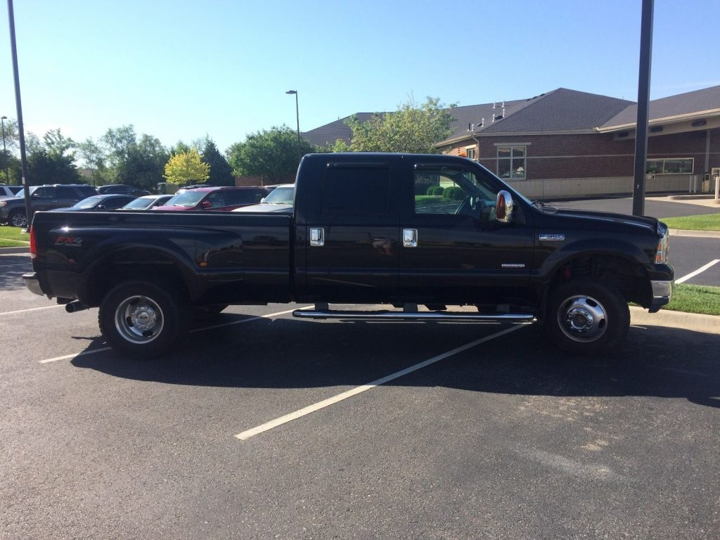 2006 ford f 350 super duty lariat crew cab for sale. Black Bedroom Furniture Sets. Home Design Ideas