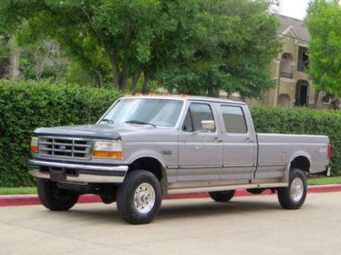 Completely stock 1997 Ford F 350 XLT crew cab for sale