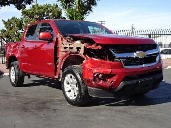 Damaged 2016 Chevrolet Colorado LT Crew Cab