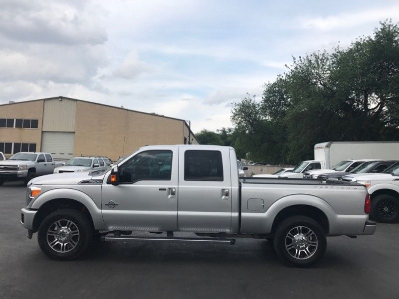 Low Mileage 2015 Ford F 250 4wd Crew Cab For Sale