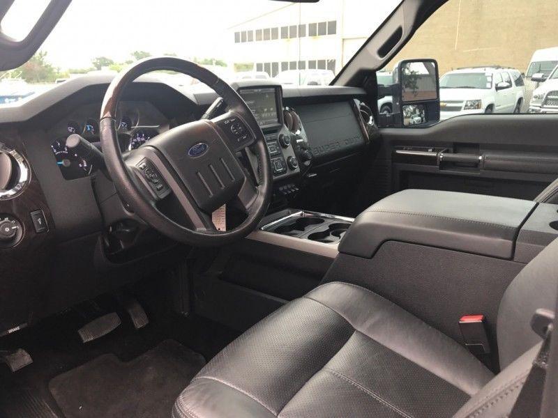 Low mileage 2015 Ford F 250 4WD Crew Cab