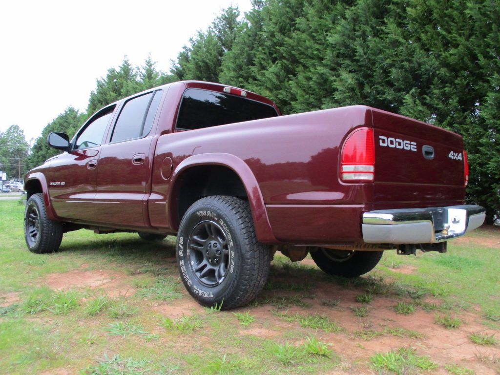 Recently Repainted Dodge Dakota Slt Crew Cab For Sale X on 2002 Dodge Dakota Horn