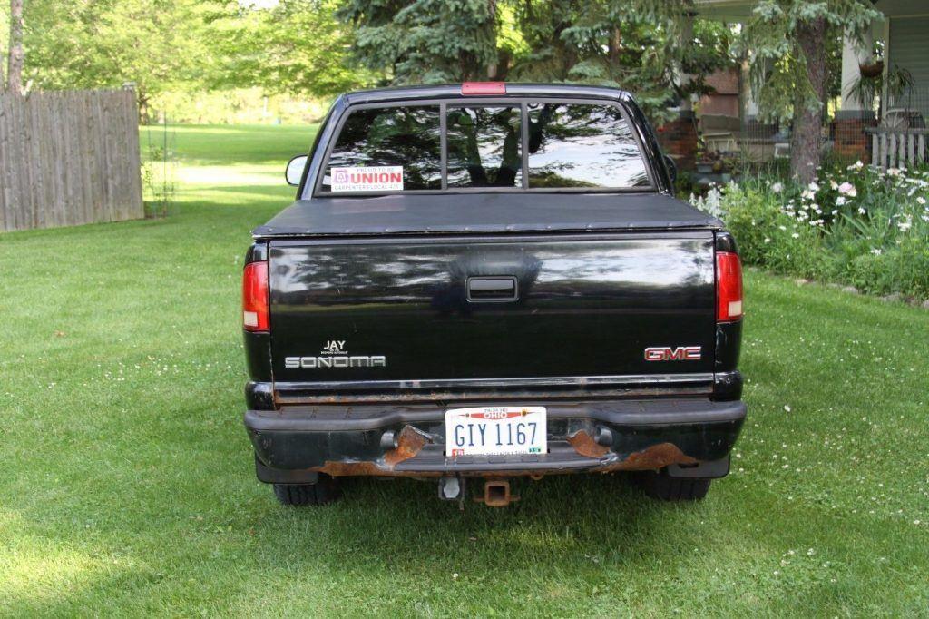 Trailer hitch 2003 GMC Sonoma SLS Crew Cab