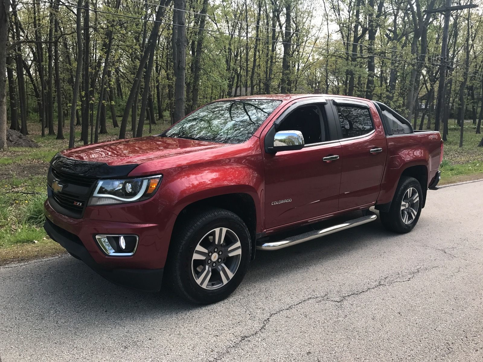 Every Option Possible 2016 Chevrolet Colorado Lt Crew Cab