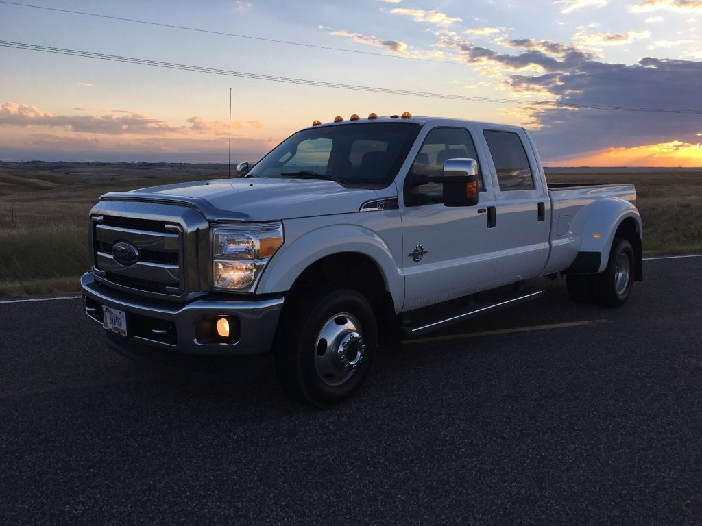 Everything stock 2015 Ford F 350 XLT crew cab