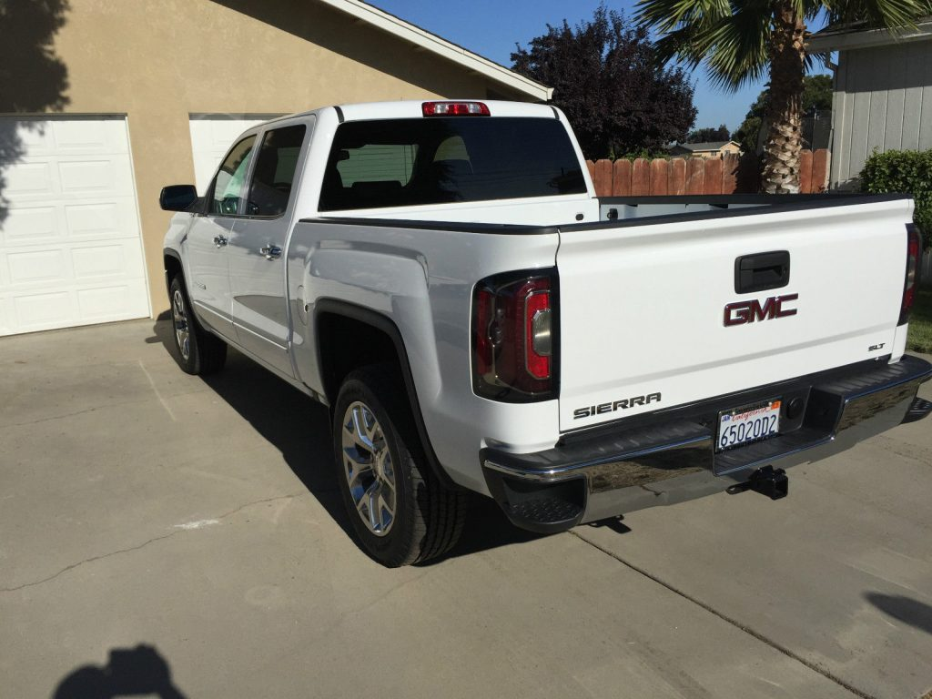 Fully loaded 2017 GMC Sierra 1500 SLT Crew Cab