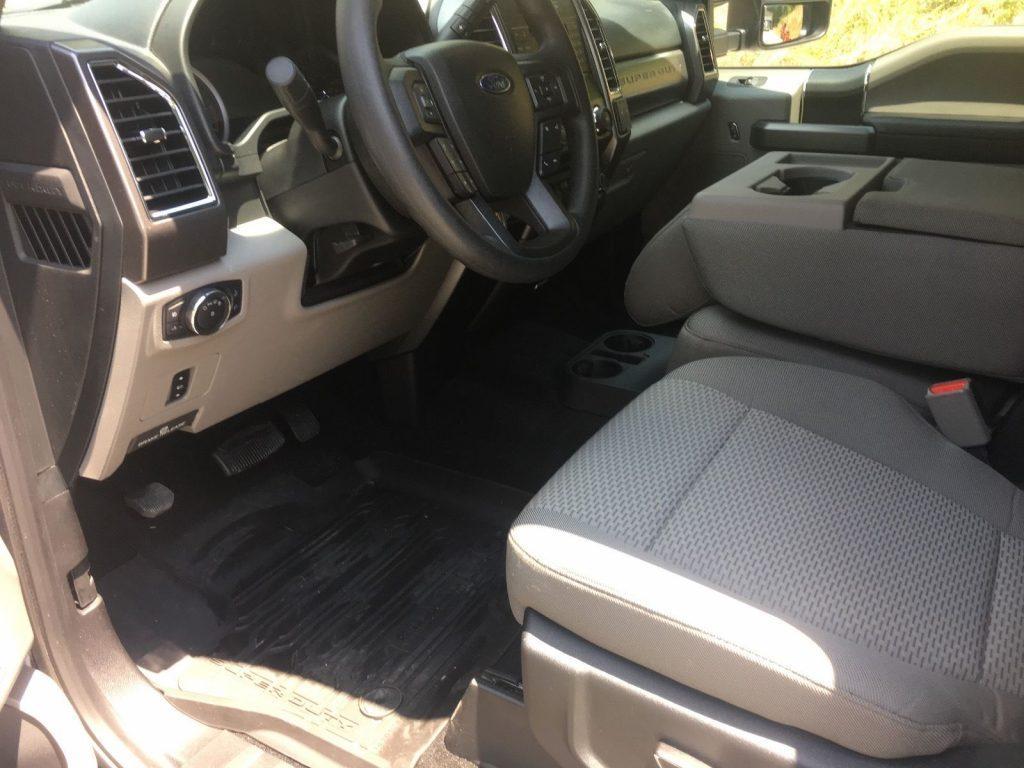 Garaged weekend cruiser 2017 Ford F 250 XLT crew cab