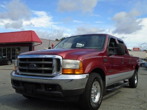 Great condition 2001 Ford F 250 XLT Crew Cab for sale