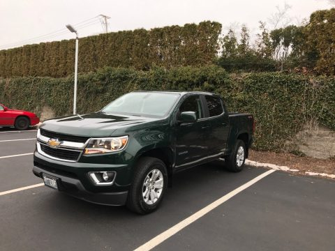 Hard to find color 2016 Chevrolet Colorado LT Crew Cab for sale