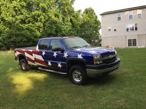 Rare 2004 Chevrolet C/K Pickup 2500 HD Crew Cab for sale