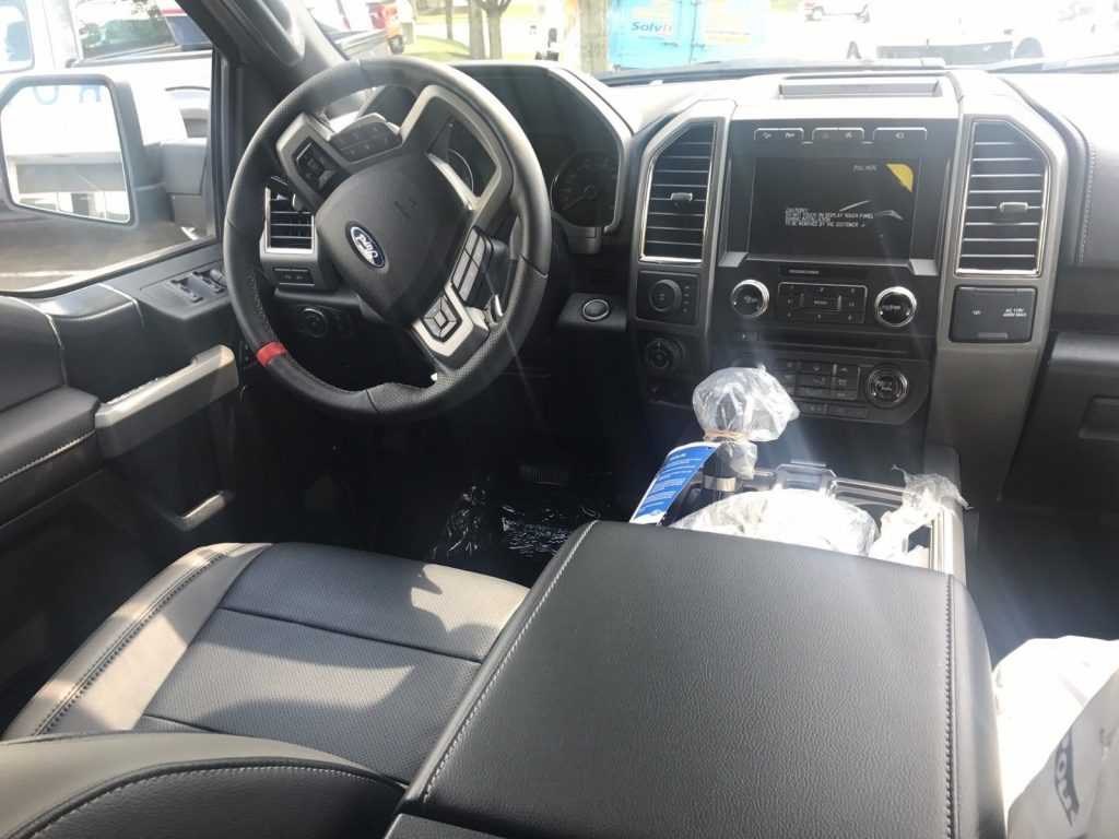 Rare color 2017 Ford F 150 Raptor Crew Cab
