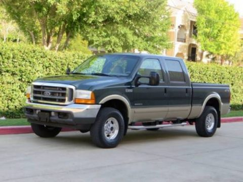 Rust free 2001 Ford F 250 Lariat 7.3L Crew cab for sale