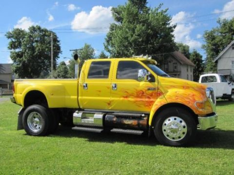 Caterpillar diesel 2006 Ford Pickups F 650 CREW CAB for sale