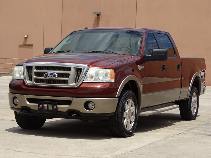 loaded 2006 ford f 150 king ranch crew cab for sale. Black Bedroom Furniture Sets. Home Design Ideas