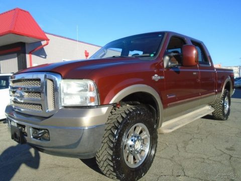Long Bed 2005 Ford F 250 XLT Crew Cab for sale