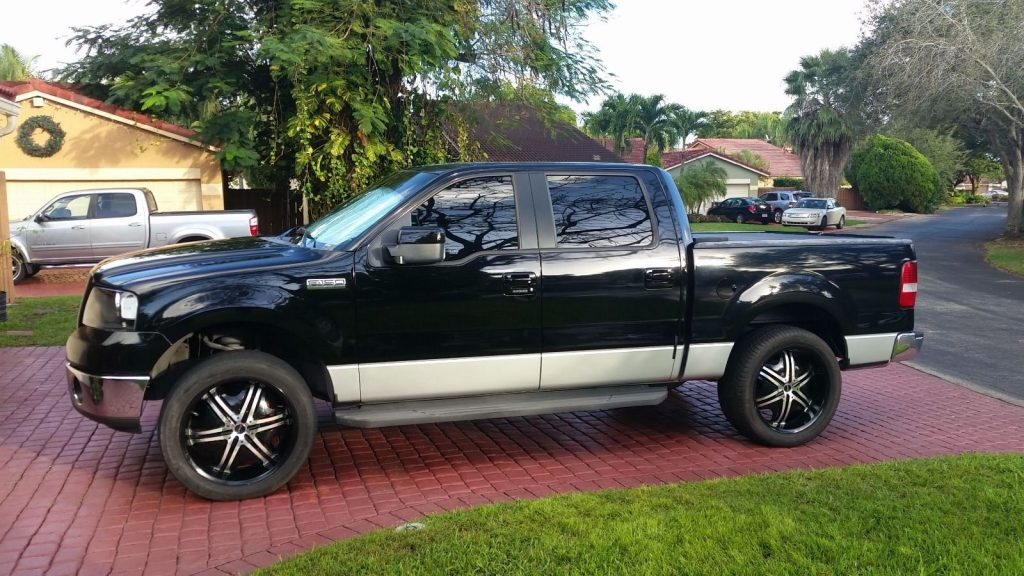 multiple upgrades 2006 ford f 150 xlt crew cab for sale. Black Bedroom Furniture Sets. Home Design Ideas