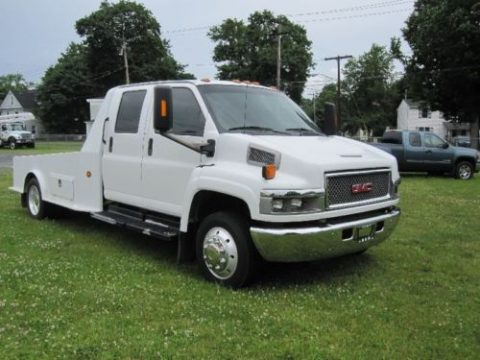 Never driven in winter 2005 GMC Topkick Kodiak crew cab for sale