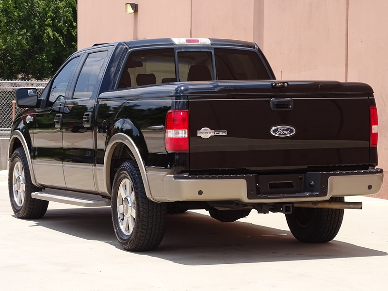 well maintained 2005 ford f 150 king ranch crew cab for sale. Black Bedroom Furniture Sets. Home Design Ideas