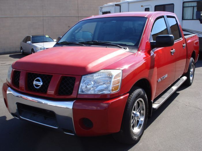 well serviced 2005 nissan titan crew cab for sale. Black Bedroom Furniture Sets. Home Design Ideas