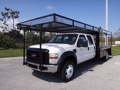 4×4 flatbed 2008 Ford F 450 crew cab for sale