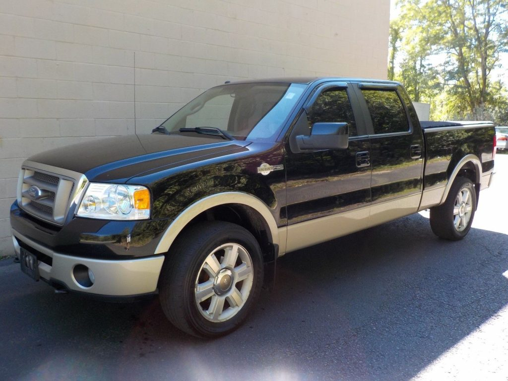 clean 2008 Ford F 150 King Ranch Crew Cab for sale
