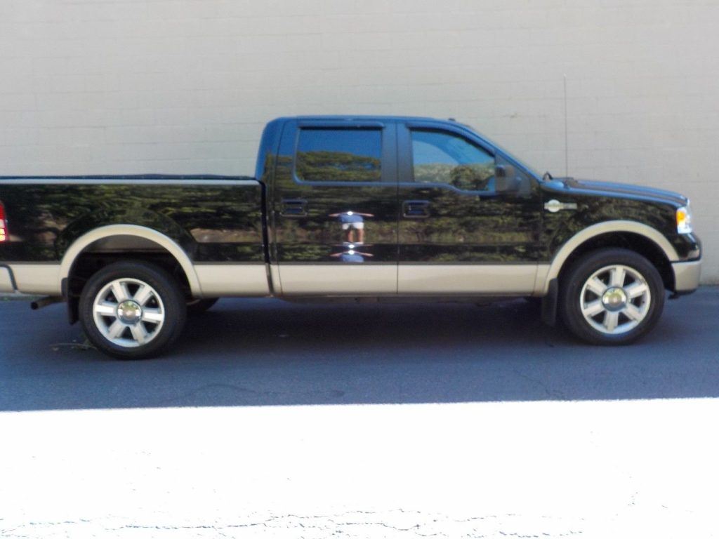 clean 2008 ford f 150 king ranch crew cab for sale. Black Bedroom Furniture Sets. Home Design Ideas