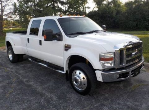 like new 2008 Ford F 450 LARIAT crew cab for sale