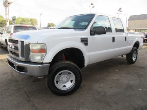 loaded with options 2008 Ford F 250 XL Crew Cab 4WD for sale