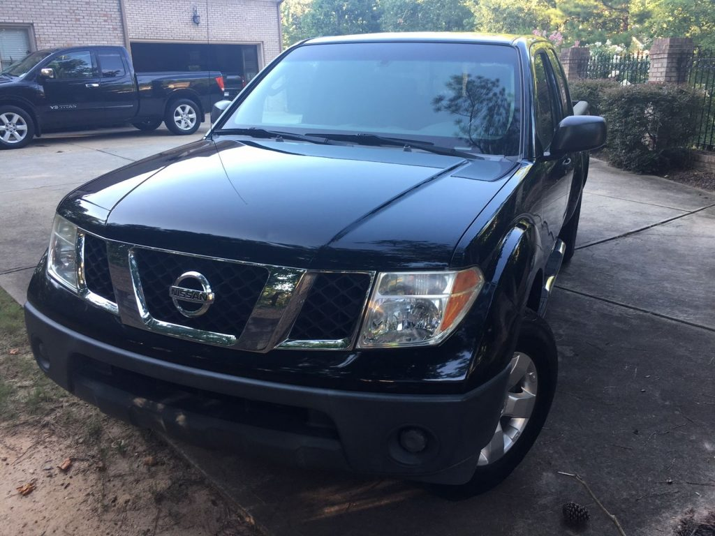 routinely serviced 2008 nissan frontier le crew cab for sale. Black Bedroom Furniture Sets. Home Design Ideas
