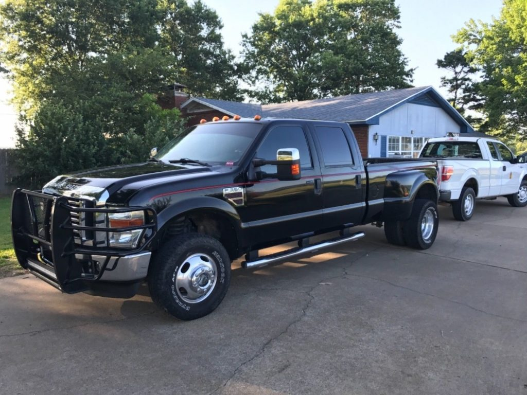 tons of power 2008 Ford F 350 Lariat crew cab