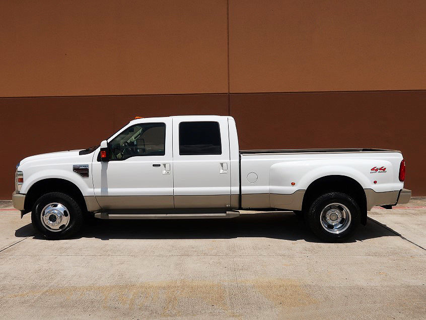 well equipped 2008 Ford F 350 crew cab