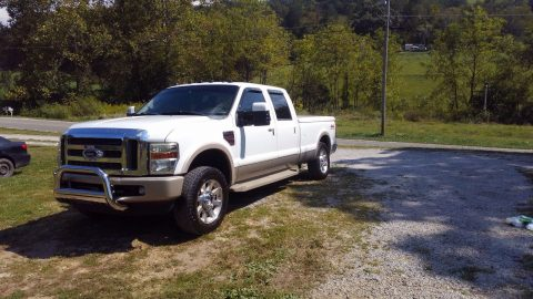 well maintained 2008 Ford F 250 King Ranch Edition crew cab for sale