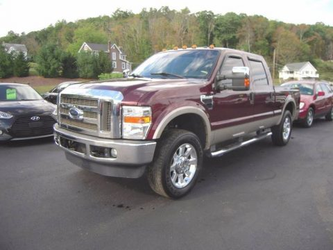 low miles 2009 Ford F 250 Lariat Crew Cab for sale