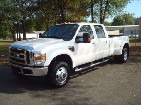 well equipped 2010 Ford F 350 LARIAT crew cab for sale
