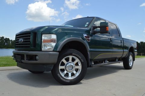 well loaded 2009 Ford F 350 Cabelas crew cab for sale