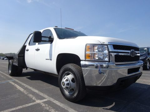 FLAT BED DUALLY 2011 Chevrolet Silverado 3500 CREW CAB for sale
